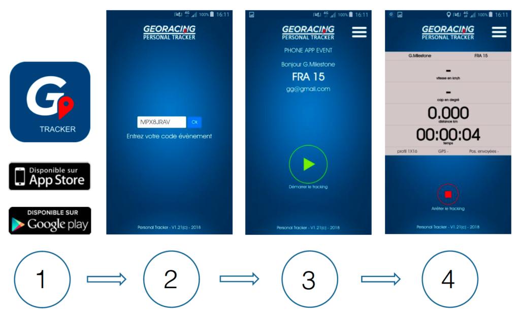 Geo Racing App